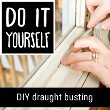 DIY draught busting